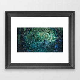 Old One Returning Framed Art Print