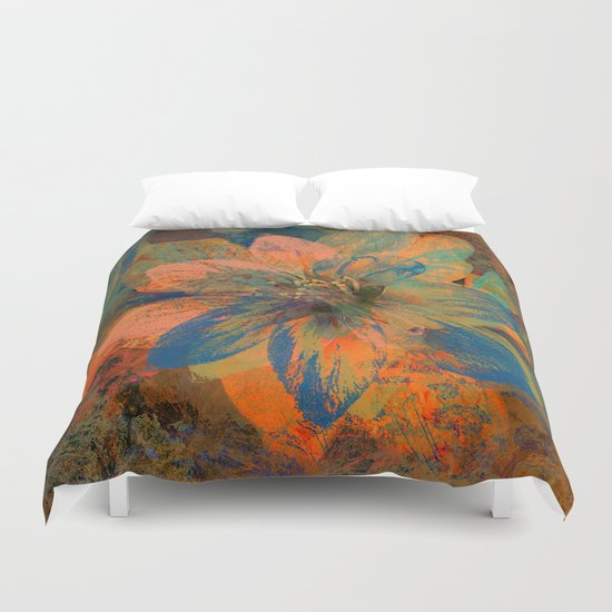 Floral abstract(43) Duvet Cover