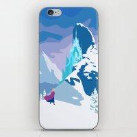 frozen iPhone & iPod Skins featuring Frozen by TheWonderlander
