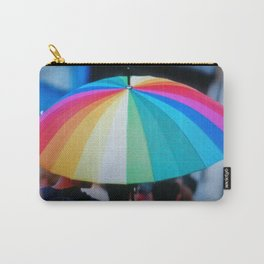 Colorful Umbrella Carry-All Pouch
