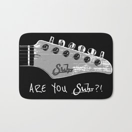Are You Suhr?! Bath Mat