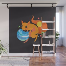 Eater of Worlds Squirrel of Doom Wall Mural