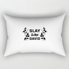 Slay Like David Rectangular Pillow