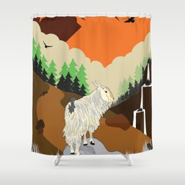 Look at y Butt. Look at it Shower Curtain