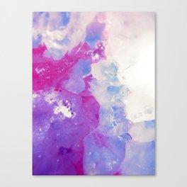 Agate Slice Canvas Print