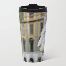 """freedom is wasted on me"" Travel Mug"