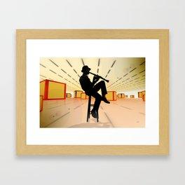 Cool Jazz 3 Framed Art Print
