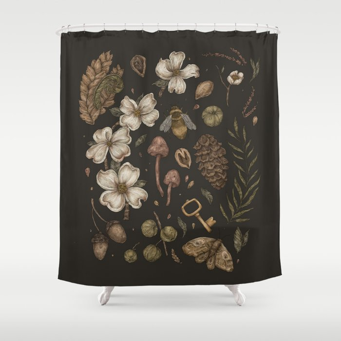 Nature Walks Shower Curtain