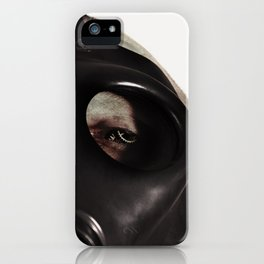 Mustard Gas Mechanic iPhone Case