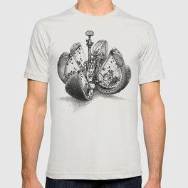 Steampunk Orange (sepia) T-shirt