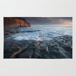 Nash Point, south wales, UK. Rug