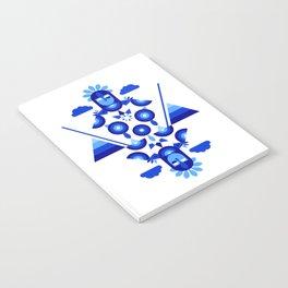 Libra in Blue Notebook