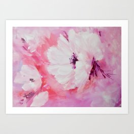 In the pink. Art Print