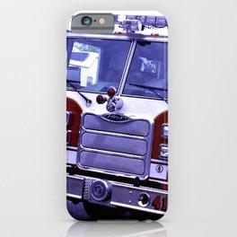 Those Wonderful Fire Trucks iPhone Case