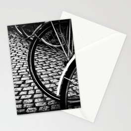 Squares And Circles Stationery Cards