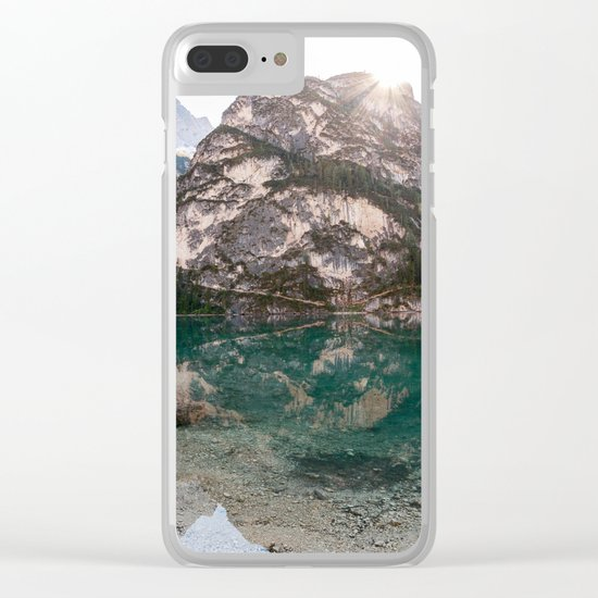You Are My Rock Clear iPhone Case