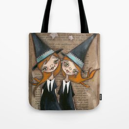 Being OUrselves - Witches, Halloween, Sisters Tote Bag