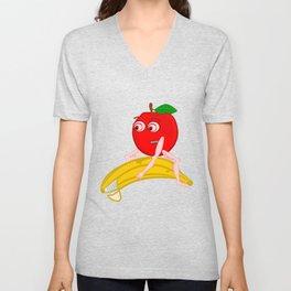 Osteopath Fruit Unisex V-Neck
