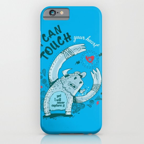 I can touch your heart iPhone & iPod Case
