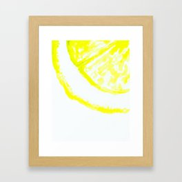 easy peasy lemon squeezy Framed Art Print