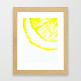 easy peasy lemon squeezy Framed Art Print