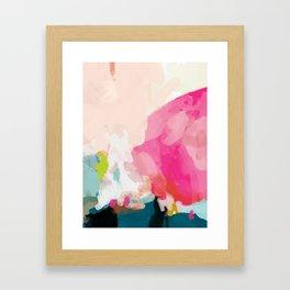 pink sky Gerahmter Kunstdruck