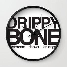 drippy bone 2010 Wall Clock