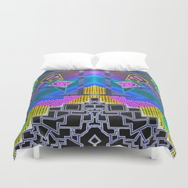Abstract 2B Duvet Cover