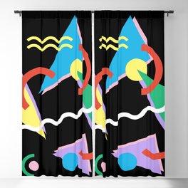 Memphis pattern 87 - 80s / 90s Retro Blackout Curtain