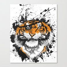 TigARRGH!! (Orange) Canvas Print