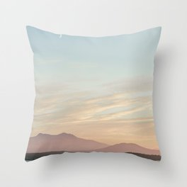 sunny sointula Throw Pillow
