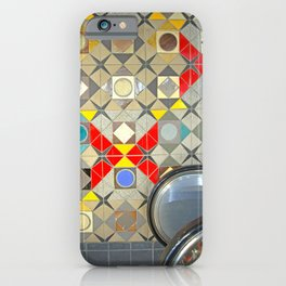 Detroit People Mover Art Broadway Fort and Cass iPhone Case