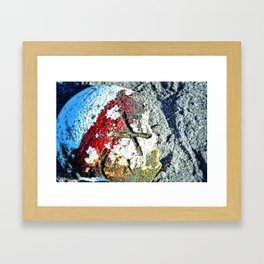 Nautical Art - X Marks The Spot - Sharon Cummings Framed Art Print