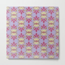 Wild plant pattern 2b Metal Print