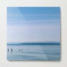 EDMONDS BEACH Metal Print