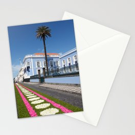 Palace in Azores Stationery Cards