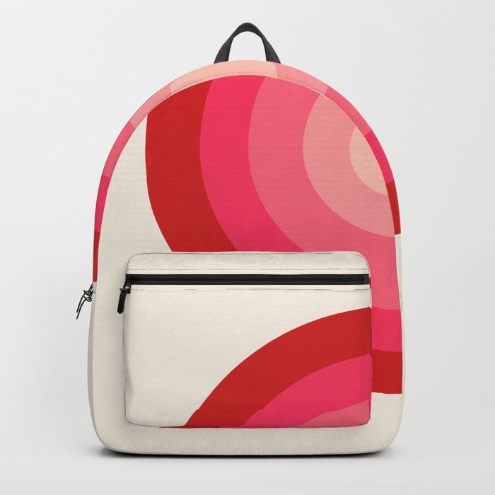 Keepin' on - 70's style retro vibes throwback minimal 1970s art decor gifts Backpack