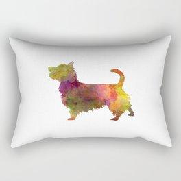 Australian Terrier in watercolor Rectangular Pillow