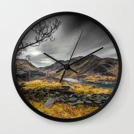 Peris Lake Snowdonia Wall Clock