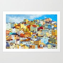 Las Palmas de Gran Canaria, Spain Art Print
