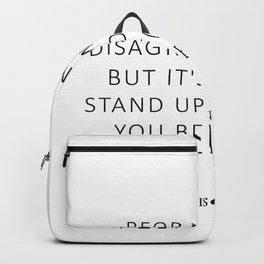 Believe - Beer Backpack