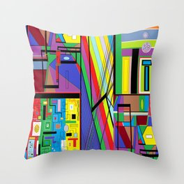 Geometry Abstract Throw Pillow