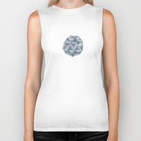 crystal Biker Tanks featuring crystal by Maybe Mary