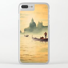 Venice Italy Grand Canal Clear iPhone Case