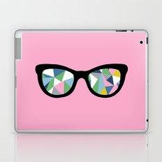Abstract Eyes on Pink Laptop & iPad Skin