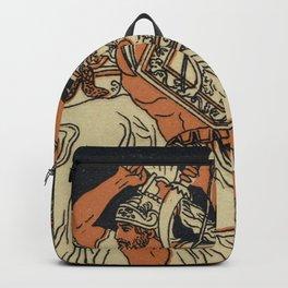 The Harpies Mythology Scene Backpack