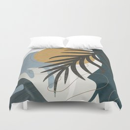 Abstract Tropical Art II Duvet Cover