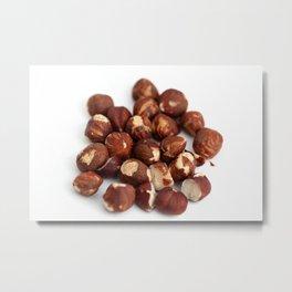 Hazelnuts Metal Print