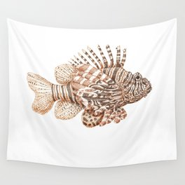 Lionfish Wall Tapestry