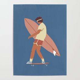 Surf poster Poster